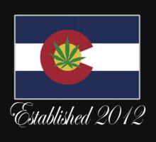 Colorado Marijuana 2012 by MarijuanaTshirt