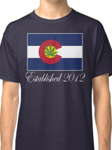 Colorado Marijuana 2012 Classic T-Shirt