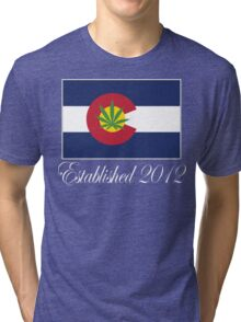 Colorado Marijuana 2012 Tri-blend T-Shirt