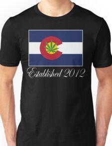 Colorado Marijuana 2012 Unisex T-Shirt