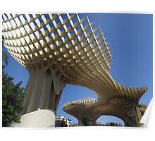 Metropol Parasol, Sevilla Poster