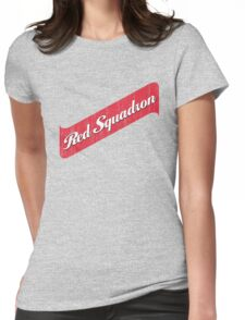 Red Squadron Beer  Womens Fitted T-Shirt