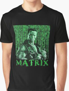 John Matrix - Commando Graphic T-Shirt