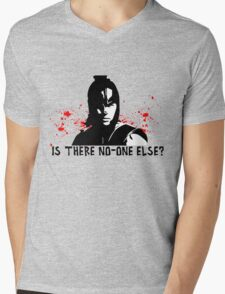 Is there no-one else? Mens V-Neck T-Shirt
