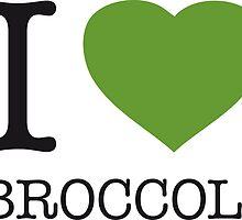 I ♥ BROCCOLI by eyesblau