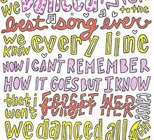 Best Song Ever Lyrics by samonstage