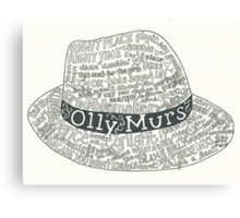 Olly Murs Hat  Canvas Print