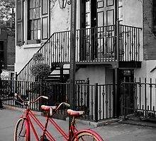 Manhattan Bicycle in Autumn, NYC by storm1313