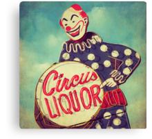 Circus Liquor Canvas Print