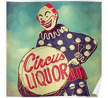 Circus Liquor Poster