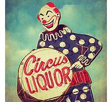 Circus Liquor Photographic Print