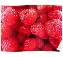 Rasberries Poster
