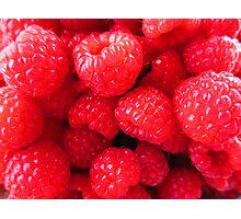 Rasberries Photographic Print