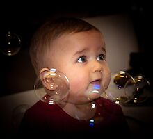 Bubbly Baby Boy by Richard Shakenovsky