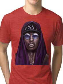Purple Swag Tri-blend T-Shirt