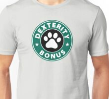 Dexterity Bonus (Dexbonus) - Starbucks Inspired Logo Unisex T-Shirt