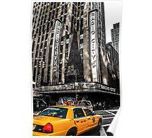 Radio City Music Hall, Manhattan, NYC Poster