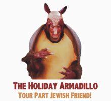 The Holiday Armadillo by talkpiece