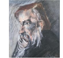 Portrait of a Wise Man by Hal Newhouser