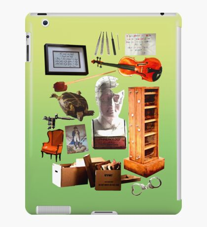 Objects of Elementary iPad Case/Skin