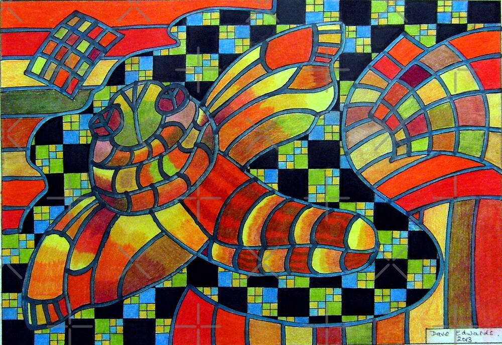 388 - KANDOZZI DESIGN - DAVE EDWARDS - COLOURED PENCILS - 2013 by BLYTHART