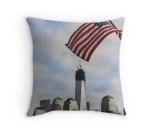 One World Trade Center, Manhattan, New York Throw Pillow