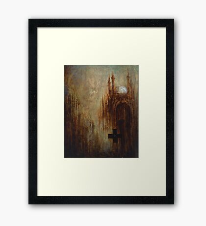 Elevations From Dystopia 3 Framed Print