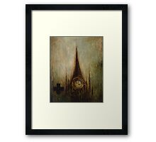 Elevations From Dystopia 4 Framed Print