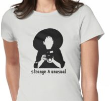 Strange and Unusual Womens Fitted T-Shirt
