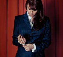 AMANDA TAPPING - CUFF for your iPad - by Dennys Ilic by Filmart