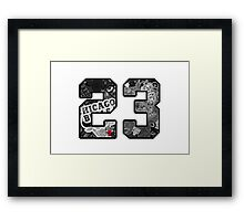 Michael Jordan #23 Framed Print
