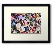 Lover's Locks Framed Print
