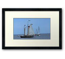 Hindu Tall Ship Framed Print