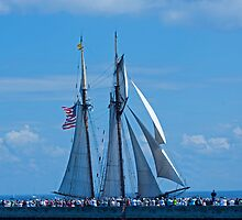 Tall Ships 3 by Tina Hailey