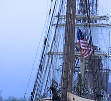 Tall Ship Mass  by Tina Hailey