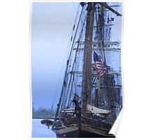Tall Ship Mass  Poster