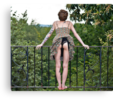 A Great View Canvas Print