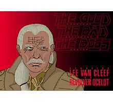 The Good, The Bad and The Boss - A Metal Gear Movie (Ocelot) Photographic Print