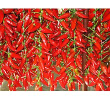 PEPPER MARKET Photographic Print