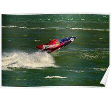 V24 Powerboat Poster