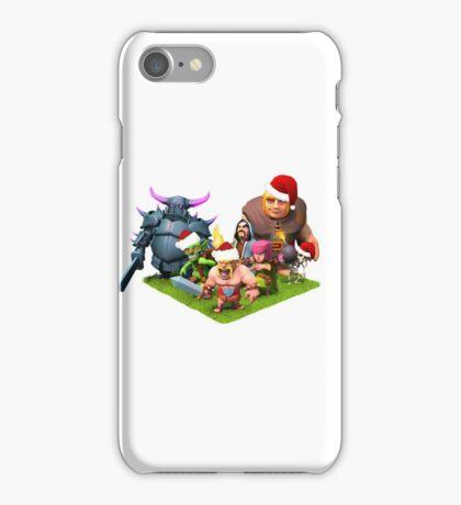 Christmas clash iPhone Case/Skin
