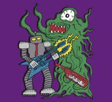 Robot Monster Power Jam by jarhumor