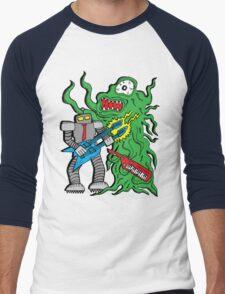 Robot Monster Power Jam Men's Baseball ¾ T-Shirt