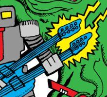 Robot Monster Power Jam Sticker