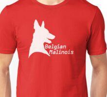 Belgian Malinois ID'ed (in white) Unisex T-Shirt