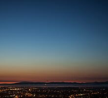 View over Lancaster, Morecambe & the Lake District by richardjames86