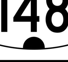 Utah 148 - Cedar Breaks National Monument Sticker