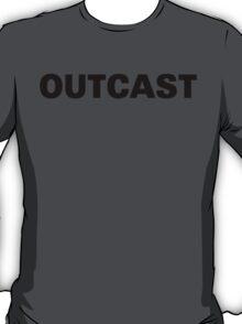 Funny Marijuana Outcast T-Shirt