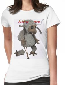 WHY ME Womens Fitted T-Shirt