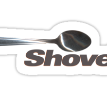 This Spoon Is Also A Shovel Sticker